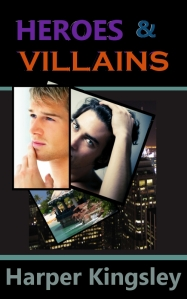 """Heroes & Villains book cover"""